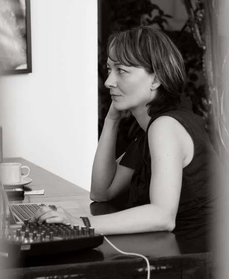 Ewa Zbrzeska busy being a TDJ.